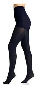 BERKSHIRE Womens Max Control Tights Navy Blue Size Medium $12 - NWT