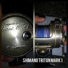 Shimano Triton Mark I Fishing Reel Made In Japan dc*