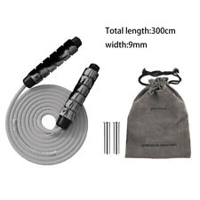 300cm Heavy Weighted Skipping Jump Ropes Speed Cardio MMA Exercise Foam Handle