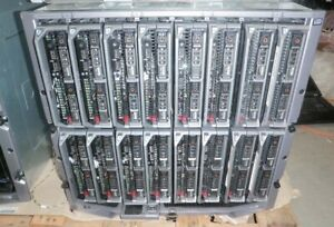 Dell M1000e Server Blade Chassis-16x Poweredge M620-12C 2.4GHz-256GB-1.2TB-10Gb