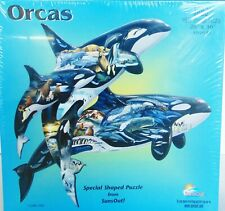 ORCAS Special Shaped Puzzle 1000 pc - Jigsaw Puzzle - Sunsout - New