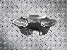 "Kawasaki Vulcan 1500 Nomad Batwing Fairing Windshield - 6x9"" Speakers & Radio/CD"