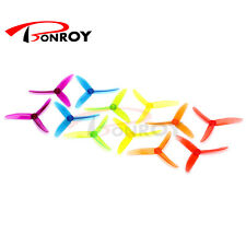 40pcs DYS 5040(XT50403) Tri-Blade Propeller FPV Prop PC Material w/ jelly color