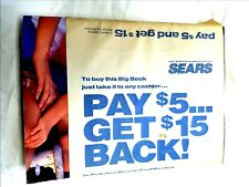 SEARS 1993 SPRING/SUMMER ANNUAL CATALOG  HAS PAPER COVER STILL ATTACHED