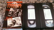 DEMENTIA 13 1963/CREATURE FROM HAUNTED SEA 1961 VHS TAPE MADACY  HORROR 1993