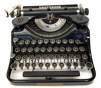 1936? Underwood Universal Touch Tuning Vintage portable Typewriter