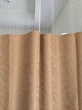 Curtain Caramel 68Wx93 HOSPITAL CLINIC LAB Antibacterial Antimicrobial medical