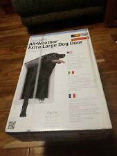 "Ideal Perfect Pet All Weather Energy Efficient Extra Large Dog Door 9-3/4"" X 17"""