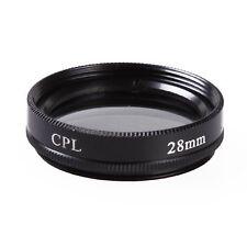 28mm Circular Polarizing C-PL CPL PL-CIR Filter 28 mm fr Canon Nikon Camera Lens
