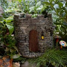 Miniature Fairy Castle Functional Flower Pot  Planter Fairy Gnome Garden TO 4286