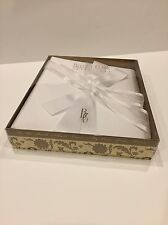 Beverly Clark Wedding Infinity Collection Memory Book White Matte Satin - 3 ring