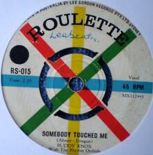 """BUDDY KNOX-SOMEBODY TOUCHED ME/C'MON BABY """"RARE OZ"""" 45 RPM 7"""""""