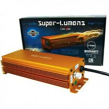 ELECTRONIC BALLAST 600W SUPERLUMENS DIMM GEAR FUSE DIGITAL 600 HPS MH DIM GROW