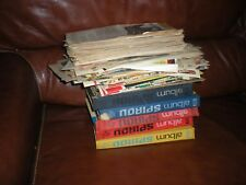 GROS LOT ALBUMS MAGAZINES PAGES LIBRES SPIROU ANNEES 50 / 60 / 70 INCOMPLETS