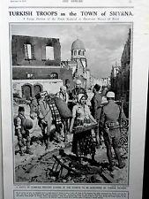 1922 The SPHERE-Master Semphill,Queen Romania,Fortunino Matania Smyrna,Palestine