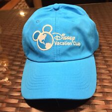 Mickey Mouse Disney Vacation Club Cap Hat Members- Blue and Adjutable