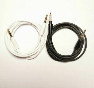 Black 3.5mm Audio Cable Aux Cord for Philips SHB7000 28 SHB8750NC BT Headphone