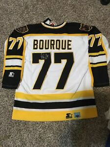 Ray Bourque Signed Autographed Boston Bruins Jersey NHL #77