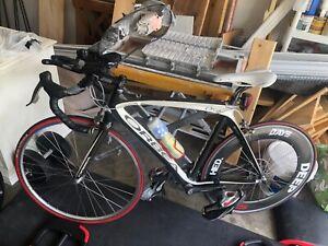 Orbea Orca bike, black and white, size 55-56