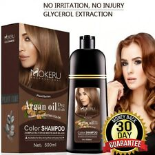Permanent Hair Color Shampoo Natural Professional Hair Dye Long Lasting