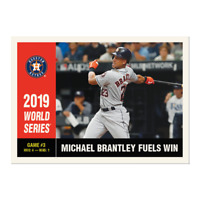Michael Brantley Throwback Thursday Set #44 1960 Topps World Series from Set TBT