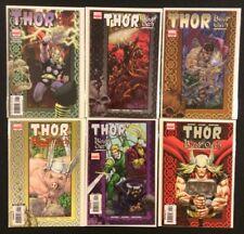 Thor Blood Oath #1 - 6 Comic Books Full Series Michael Avon Oeming Marvel Vf-Nm