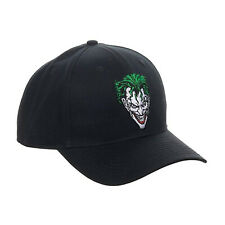 DC Joker Black Snapback Hat NEW IN STOCK