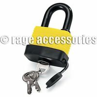WATERPROOF PADLOCK 40MM HEAVY DUTY WITH 2 KEYS SAFETY AND SECURITY FOR OUTDOOR