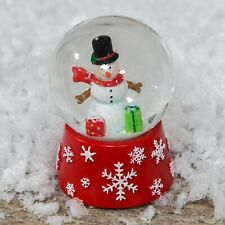 Widdop Bingham Snowman with Gifts Mini Snowdome - Christmas Home Decoration