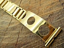 NOS Vintage Watch Band Rolled Gold Plate 22mm Butterfly Clasp Rowi Unused Mens