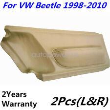 For Volkswagen Beetle 98 10 Door Panel Insert Cards Synthetic Leather Beige Tan Fits 2004 Volkswagen Beetle