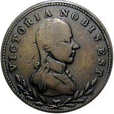 Lower Canada Victoria Nobis Est Halfpenny Token Breton 982