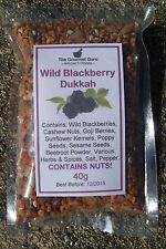 Wild Blackberry Dukkah 40g -  MADE in SA - The Gourmet Guru Specialty Foods