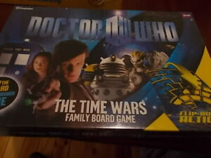 DR WHO THE TIME WARS Board  Game. NEW SEALED