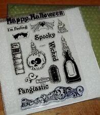CTMH C1477 FANGTASTIC WORKSHOP SET ~ Skull candle, Bats, Magic Book, Wicked