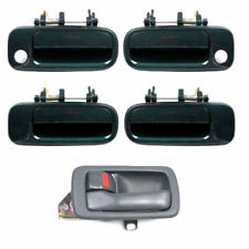 For 92-96 Toyota Camry 1 GRAY DS421 Inside & 4 GREEN 6M1 Outside Door Handle Set
