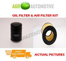 PETROL SERVICE KIT OIL AIR FILTER FOR SAAB 9-5 2.3 260 BHP 2005-10