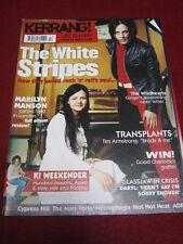 KERRANG! - THE WHITE STRIPES - 26 April 2003