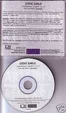 STEVE EARLE Conspiracy Theory RARE PROMO Radio DJ CD Single USA MINT
