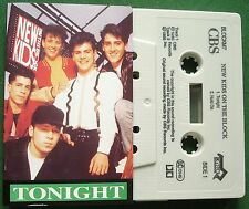 New Kids on The Block Tonight + Hold On Cassette Tape Single - TESTED