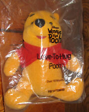 AVON POOH Plush Action & Talking Toy NEW MINT w TAGS