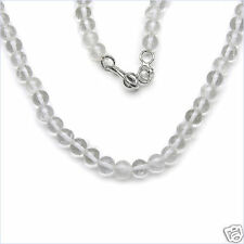 "Beads 18"" Necklace New 93.00ctw Genuine Crystal Round"