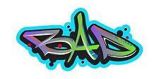 Grafitti Style Graffix Grafix Bad Sticker Decal Graphic Vinyl Label