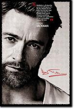 Hugh Jackman ART PRINT 2 POSTER DONO PREVENTIVO di foto