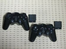 2 Funk Controller für Playstation 2 PS2 Wireless Dual Vibration Gamepad PS2 NEU