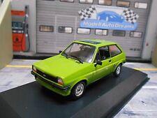 FORD Fiesta MKI 1 Kleinwagen 1976 green grün light Minichamps SP 1:43