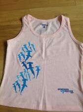 New Ladies  Pink Vest Top , Size Medium