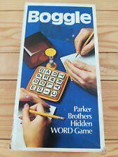 BOGGLE - Vintage Parker Brothers Version - Complete - 1976