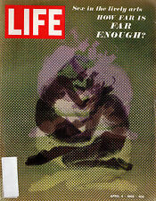 LIFE Magazine April 4 1969-Sex in the Arts, The Death of Dwight Eisenhower
