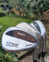 Mizuno MP-T11 Wedge Set - 52°, 56°, 60° - Right Handed - Brand New Grips